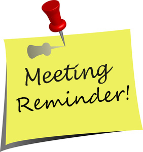meeting reminder clipart blue sticky note clipart blank sticky note clipart