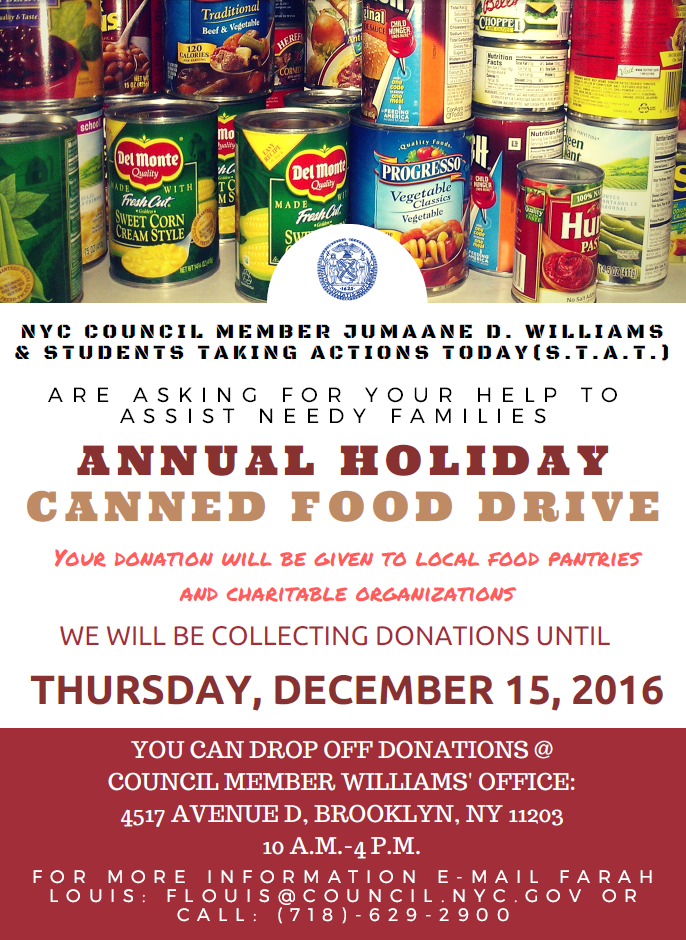 holiday events  drives  u0026 volunteer opportunities