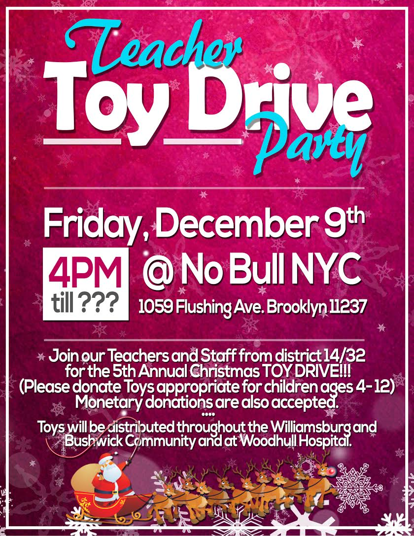 holiday events drives volunteer opportunities brooklyn all are invited to donate toys for children ages 4 12 monetary donations accepted donations accepted on 9th beginning at 4 pm