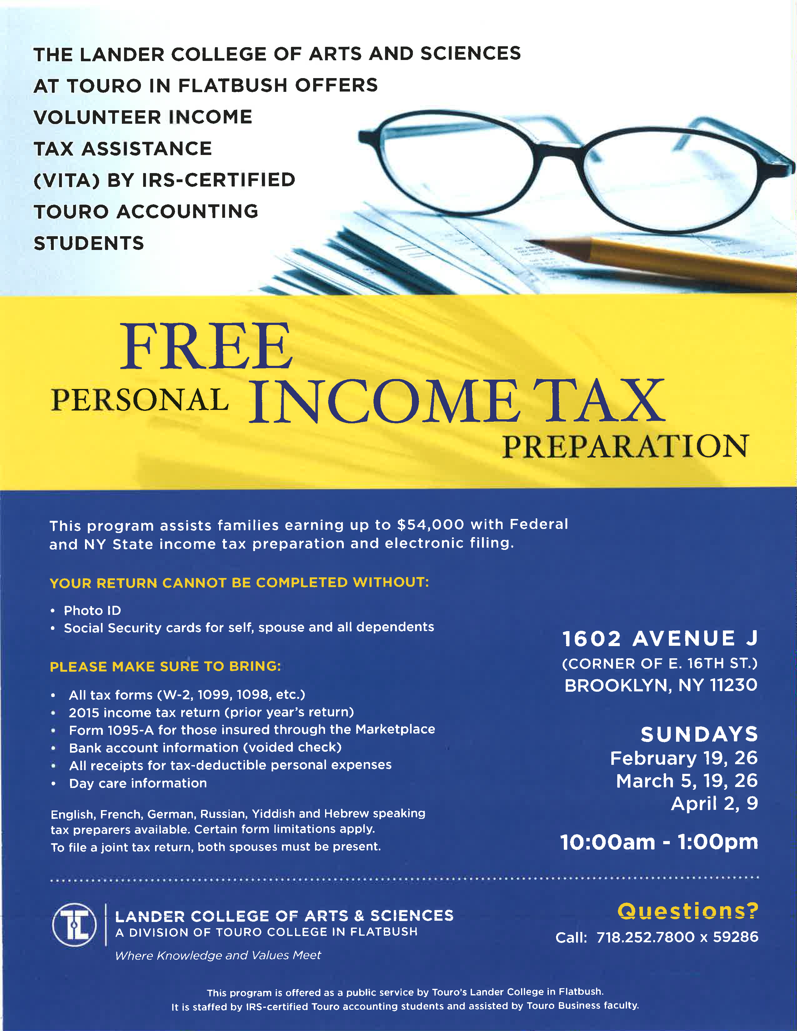 Beautiful gallery of tax preparer certification courses business free tax preparation assistance xflitez Images